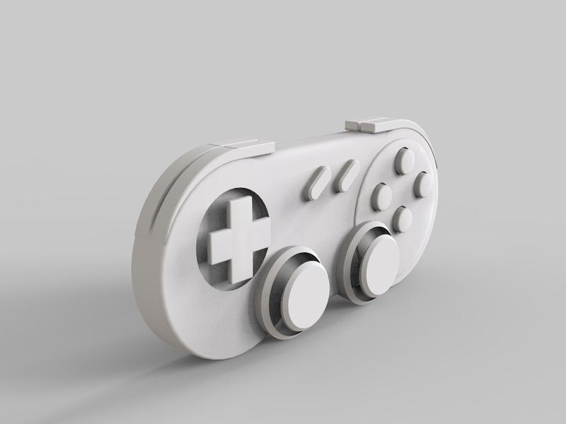Product Design sketch proartz landing page photoshop design illustrator light render cinema 4d joystick model mode 3d controller game
