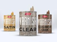 Varnish package design