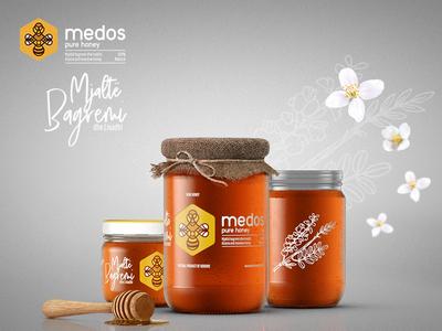 Medos Honey - Branding