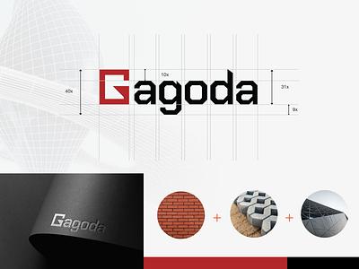 Gagoda Logo architecture haidat datnhx hải đạt gagoda gagoda.vn