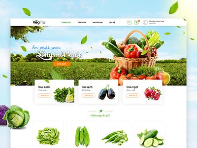 Fresh vegetable website haidat ecommerce fresh vegetable website design uidesign