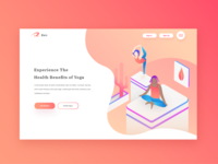 Yoga Web Design Concept