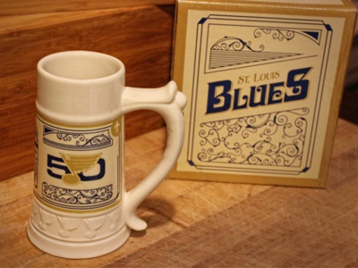 St. Louis Blues 2016-17 Beer Stein