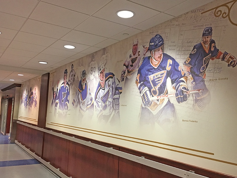 Locker Room Wall Wraps By Maggie Michael Dribbble