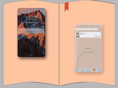 LitRes (Read! app) redesign-2 uxui design reading app redesign