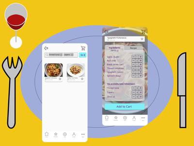food delivery and cooking app idea ui concept cooking app design food app