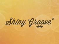 Shiny Groove Site Typography