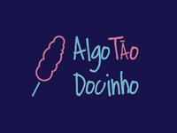 Algo Tão Docinho logotype
