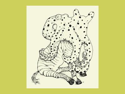 Octopus <3's Zebra