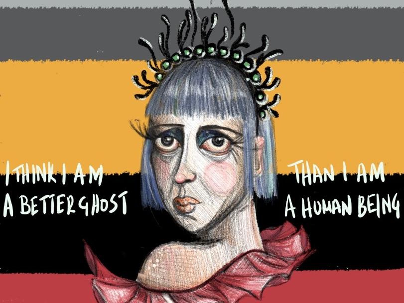 Ghost illustration design