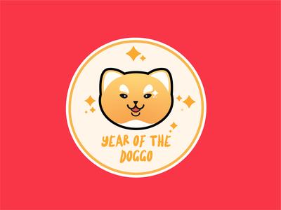 Year of the Doggo Badge