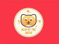 Year of the Doggo Badge