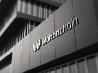 Waltonchain - logo wall
