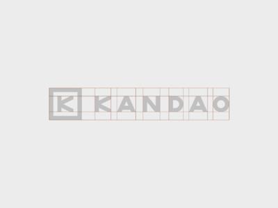 Kandao - logo strucutre vi juke china guidelines identity designvisual logo