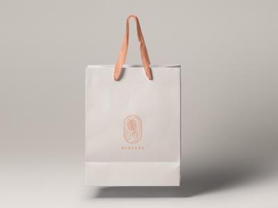 Ninsare - gift bag vi juke china guidelines identity designvisual logo