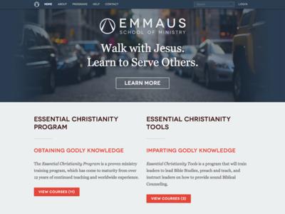 Emmaus SOM Website