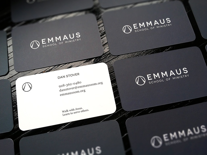 Emmaus business card