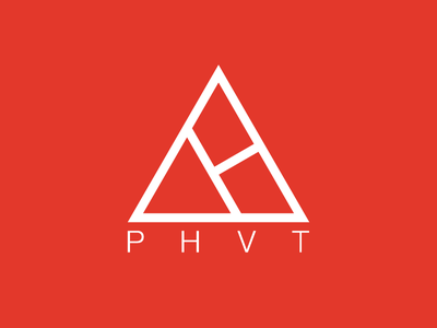 New personal logo logo triangle red