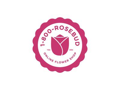 1-800-Rosebud Logo   #ThirtyLogos Day 6
