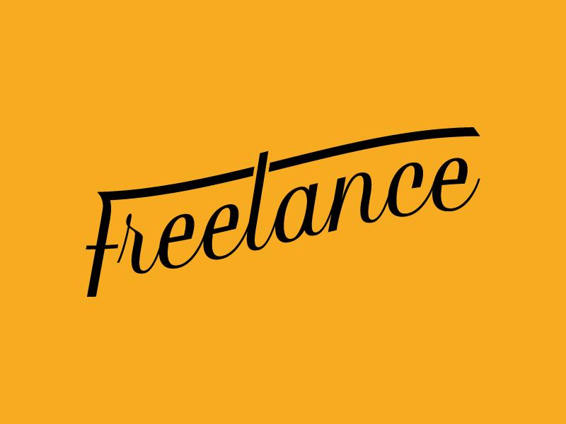 Freelance | Thirty Logos Day 20 wordmark logo freelance thirty logos thirtylogos