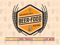 Beer & Food Festival Logo