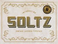 Soltz Layered Typeface Update