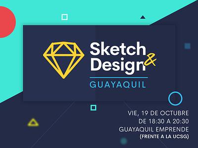 Sketch&Design // Guayaquil event ui sketch meetup guayaquil