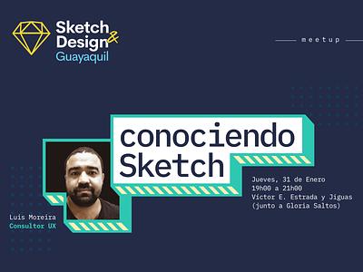 Sketch Meetup invitation meet up sketch