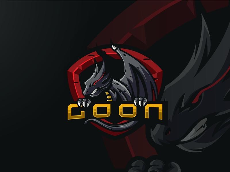 Dragon Esports Logo serpent dragon gorilla tshirt mascot esports esport branding ai artwork design brandidentity logo