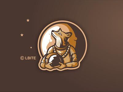Astronaut Fox moon helmet stars astronaut fox esport cartoon illustraion graphicdesign illustration mascot esports vector branding design artwork brandidentity logo