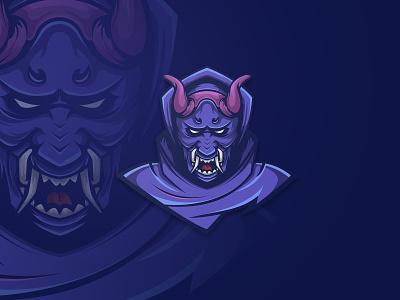 ONI - DEVIL devil logo oni logo purple esportslogo horn devil oni cartoon graphicdesign illustration mascot esports esport vector branding design artwork brandidentity logo
