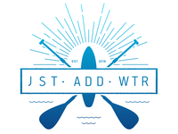 Just Add Water - Retro Camp Logo