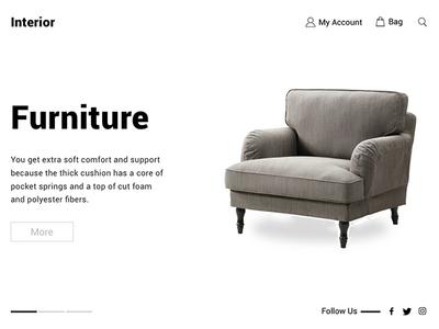 E-Commerce Shop web shop ux ui design