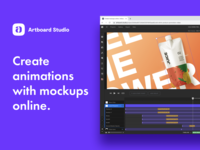 Create animations with mockups online template mockup template motion graphics animation design artboard studio mockup keyframe motion graphic motion design animation