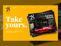 Free Magazine Mockup For Website Banner