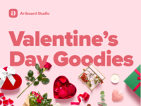Free Valentine's Day Mockup Items and Templates