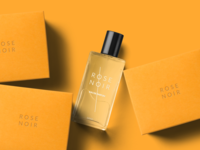 Free Perfume Bottle And Boxes Mockup Scene