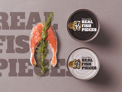 Free Seafood Related Package Mockup Scene