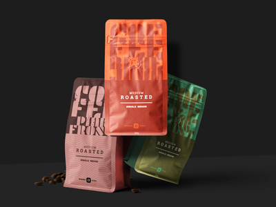 Free Coffee Package Mockup Scene coffee packaging branding design free mockup artboard studio