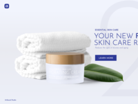 Cream Package Mockup Scene And Banner