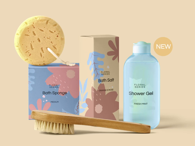 Cosmetic Products Mockup Template