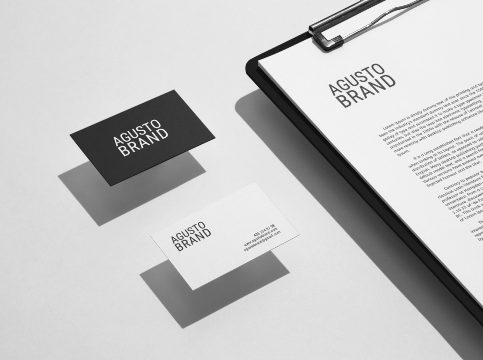 image regarding Free Stationery Templates identified as Absolutely free Stationery Mockup Templates by means of Artboard Studio upon Dribbble