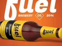 Fuel - Beer and brewery packaging design template concept