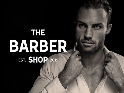 The Barber Shop Brand Identity Template