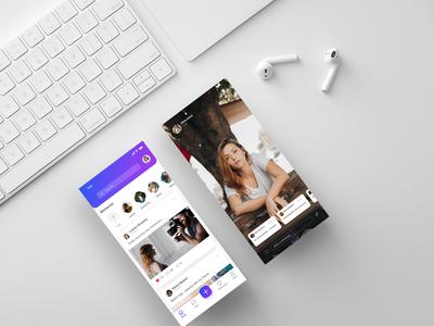 Social Networking App UI
