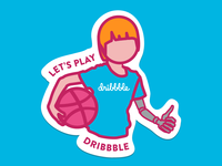 Let's play Dribbble
