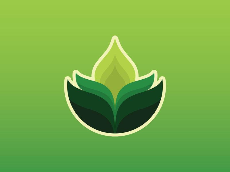 RELAXGRE symbol leaf logo healthy beauty salon spa green print branding identity illustration green logo flat logo business template icon vector brand logo relaxation