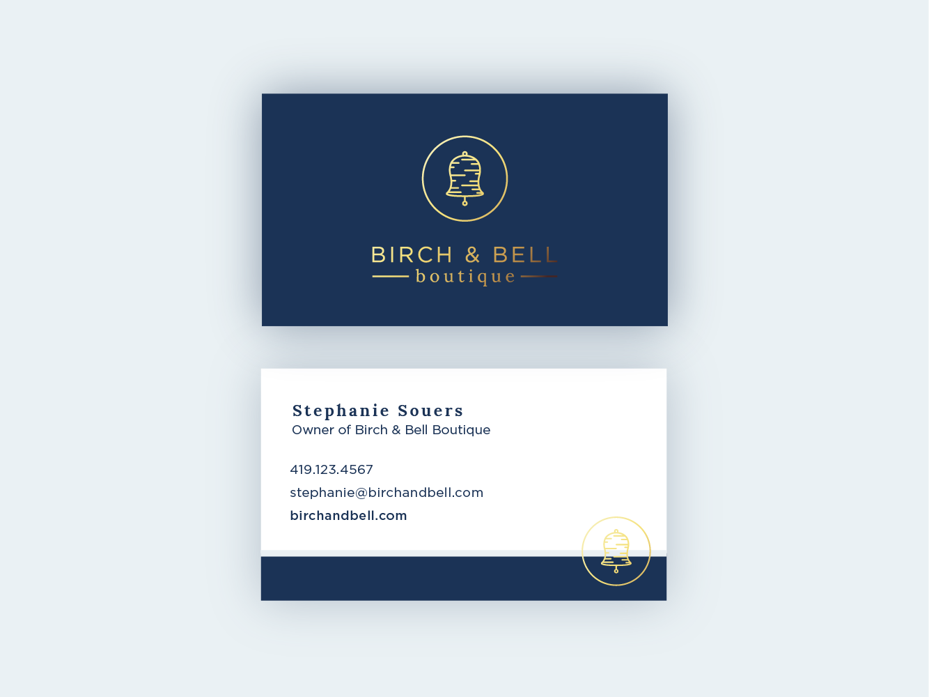 birch bellbusinesscards 01 - Boutique Business Cards
