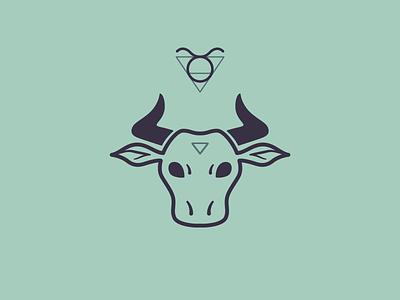 Taurus horoscope tarot astrology taurus logo zodiac signs taurus icon zodiac icon zodiac zodiac logo bull logo bull icon vector illustration logo branding