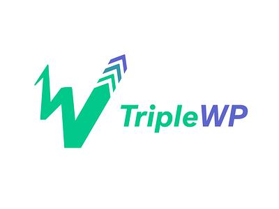 Triple WP - Part 2 wordpress logo triple wordpress triplewp wp wordpress brand logocore identity logo design branding